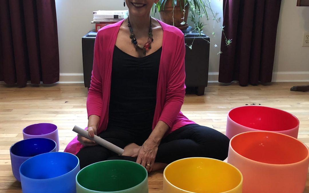 Crystal Bowl Restorative Yoga Class!